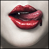 Аватар губы,кровь