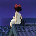 Аватар Волшебство ночи (Кадр из мультфильма «Ведьмина служба доставки»)