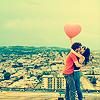 Аватар пара с шариком в виде сердечка