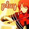 Аватар play (девушка играет на скрипке)