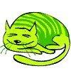 99px.ru аватар Зелёный кот