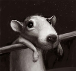 Аватар Грустная мышка