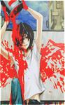 99px.ru аватар вылил банку краски на себя...