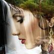 Аватар Профиль Девушки, Вписанный в Водопад (© OgoneK), добавлено: 13.07.2010 11:43