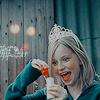 Аватар Смеющаяся Девочка с Мороженым