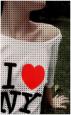 Аватар футболка I love New-York