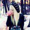 Аватар девушка пьет колу
