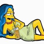 Аватар Мардж пьяная