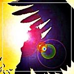 Аватар Ангел в свете солнца