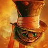 Аватар Чеширский кот в шляпе из фильма «Алиса в стране чудес»