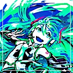 Аватар Вокалоид Хатсуне Мику