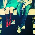 Аватар парень и девушка сидят рядом