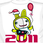 Аватар Заяц с шариком 2011