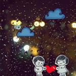 Аватар Парень и девушка держат сердечко