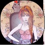 Аватар Девушка с косой на кресле