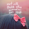 Аватар Розовый бант на голове (Not all those who wander are lost / Не все те, кто блуждает - потеряны) (© Frau_Muller), добавлено: 15.12.2010 18:52