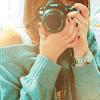 Аватар Девушка с фотоаппаратом