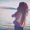 Аватар Девушка на морском фоне