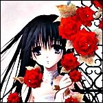 Аватар Девушка с розами
