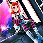 Аватар Девушка сидит на подоконнике