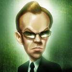 Аватар Мистер Смит из фильма «Матрица»