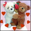 Аватар Влюблённые игрушечные медвежата