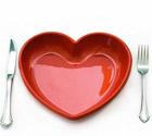 Аватар Тарелка-сердце и приборы