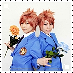 Аватар Косплей Хикару и Каору (Хост клуб старшей школы Оуран)
