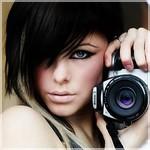 Аватар Шарлиз Терон с фотоаппаратом