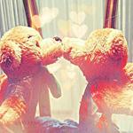 Аватар Поцелуй плюшевых мишек