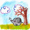 Аватар Слонёнок разгоняет облака