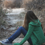 Аватар Девушка и осенний пейзаж