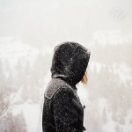 Аватар Девушка под снегом