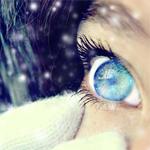 Аватар Глаз девушки под снегом