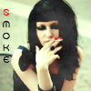 Аватар Курящая девушка (smoke)