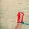 Аватар Банка Coca-Cola на берегу моря
