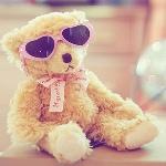 Аватар Плюшевый медведь в гламурных очках