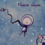 Аватар Человечек в космосе (Hearts dream)