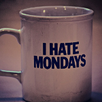 Аватар Чашка с надписью I HATE MONDAYS