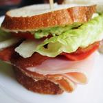 Аватар Большой вкусный бутерброд с зеленью и мясом