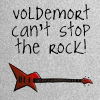 Аватар Электрогитара ('Voldemort can't stop the rock' / 'Волдеморт не сможет остановить рок')