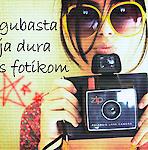 Аватар Девушка в желтых очках с фотоаппаратом ('Gubastaja dura s fotikom')