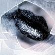 Аватар Серые губы в трещине в стекле