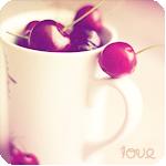 Аватар Крупная вишня в чашке ('Love')