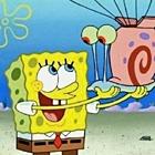 Аватар Спанч боб держит на руках Гэри из мультфильма 'Губка боб квадратные штаны'