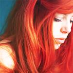 Аватар Девушка с ярко-рыжими волосами