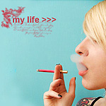 Аватар Курящая девушка ('My life' / 'Моя жизнь')