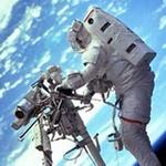 Аватар Космонавт в открытом космосе