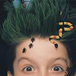 Аватар Из волос выползают пауки и змея