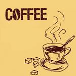 Аватар Чашка кофе и рафинад ('Coffee' / 'Кофе')